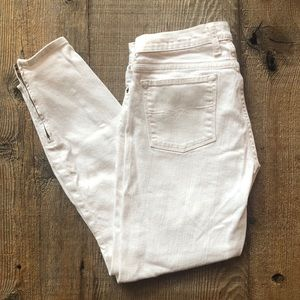 Lucky Brand Charlie Pencil Capris White